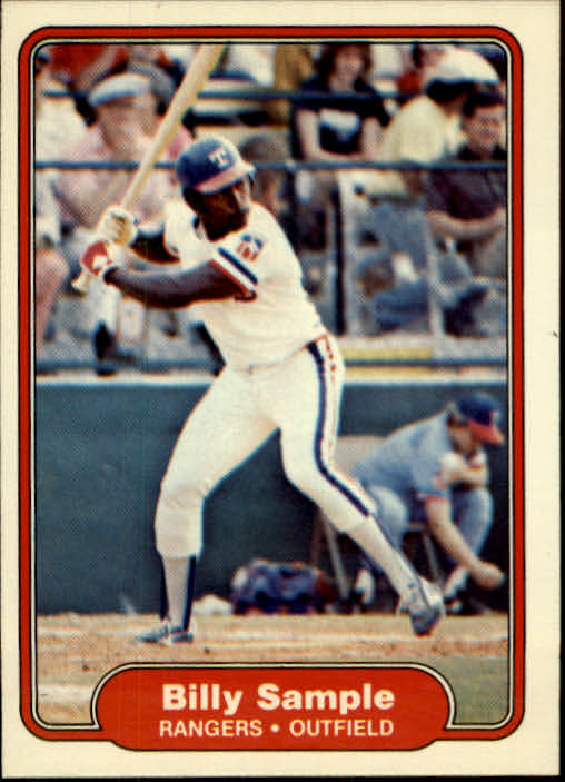 1982 Fleer #330 Billy Sample