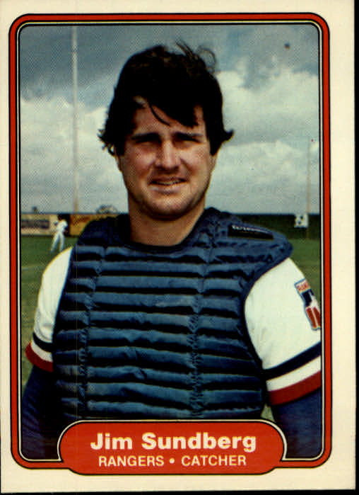 1982 Fleer #332 Jim Sundberg