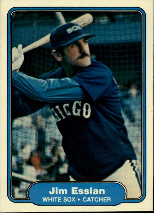 1982 Fleer #341 Jim Essian