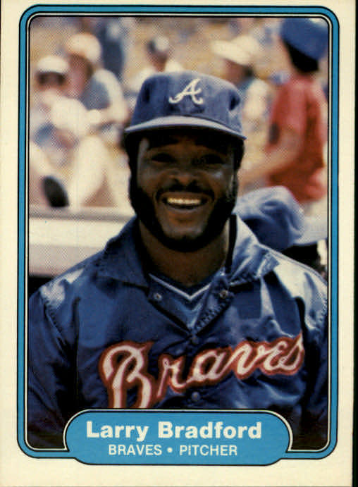 1982 Fleer #431 Larry Bradford