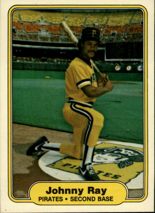 1982 Fleer #492 Johnny Ray RC