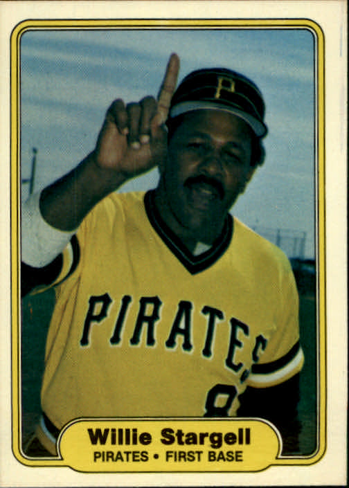 1982 Fleer #499 Willie Stargell