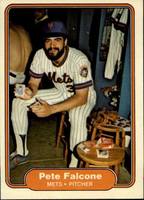 1982 Fleer #524 Pete Falcone