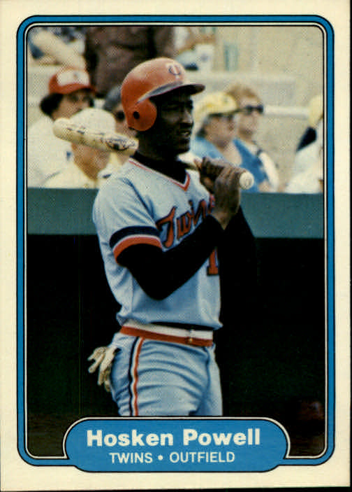 1982 Fleer #558 Hosken Powell