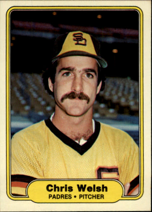 1982 Fleer #584 Chris Welsh