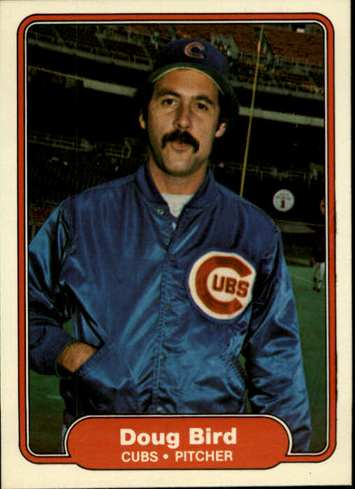1982 Fleer #586 Doug Bird