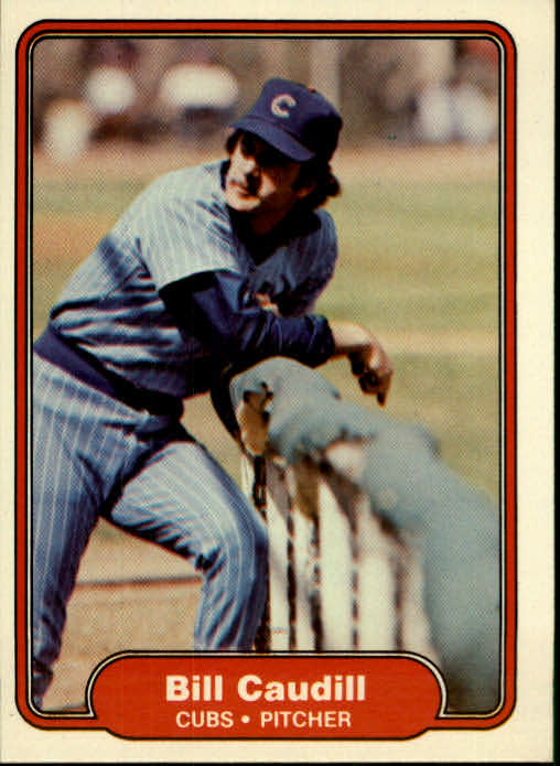 1982 Fleer #590 Bill Caudill