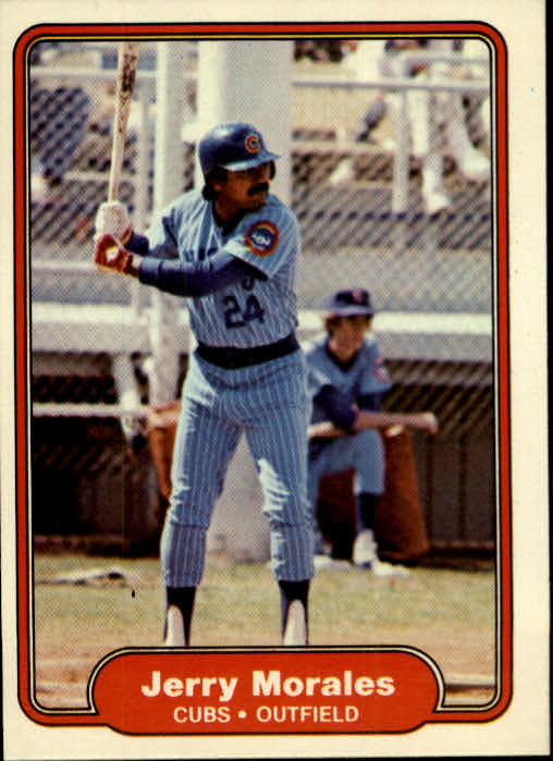 1982 Fleer #601 Jerry Morales