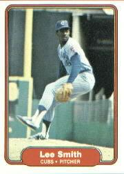 1982 Fleer #603 Lee Smith RC