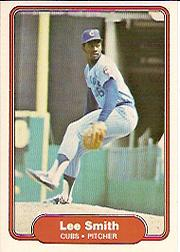 1982 Fleer #603B Lee Smith COR