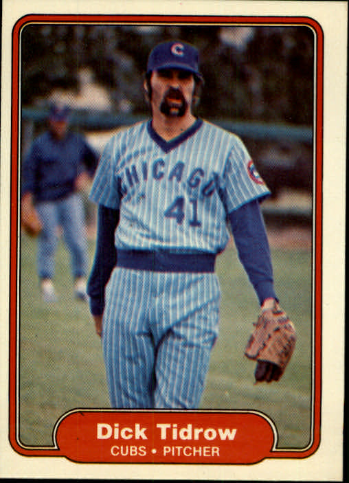 1982 Fleer #604 Dick Tidrow