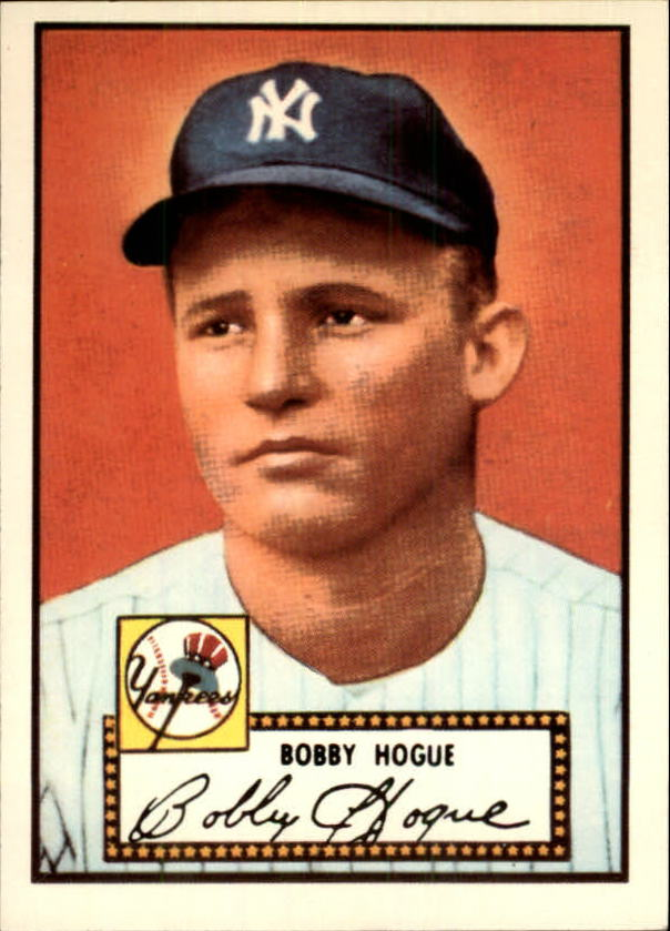 1983 Topps 1952 Reprint #9 Robert Hogue