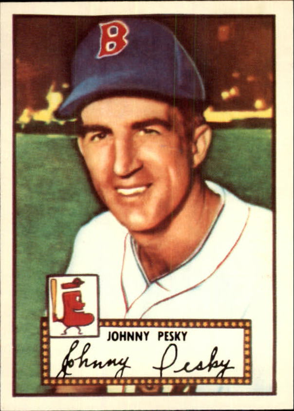 1983 Topps 1952 Reprint #15 Johnny Pesky