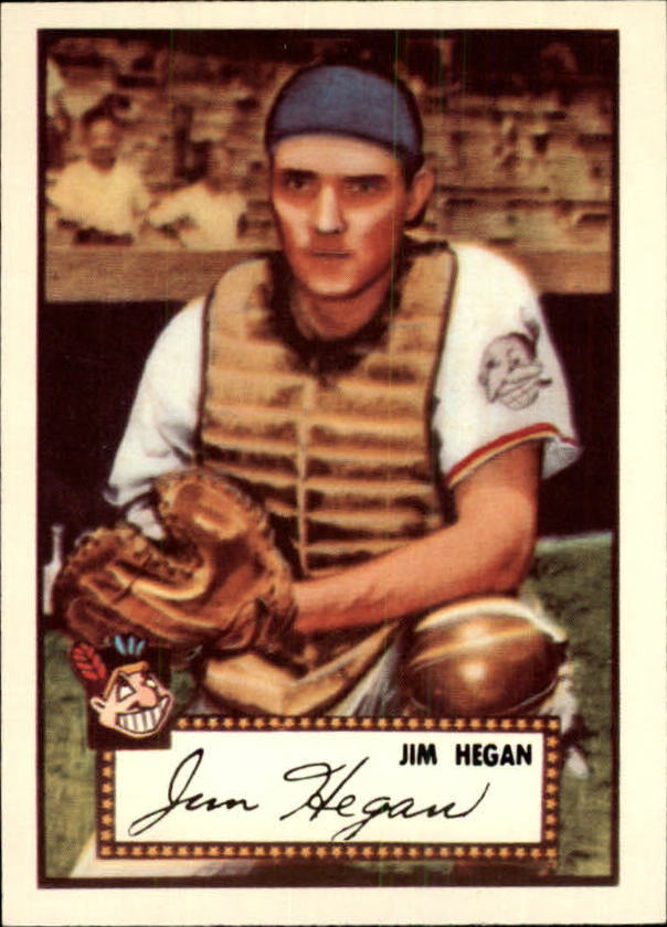 1983 Topps 1952 Reprint #17 Jim Hegan