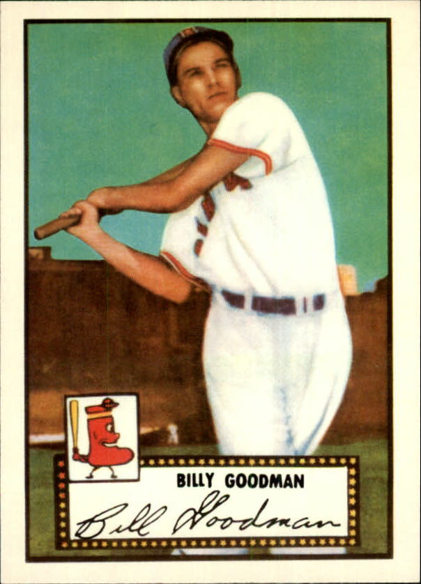1983 Topps 1952 Reprint #23 Billy Goodman front image