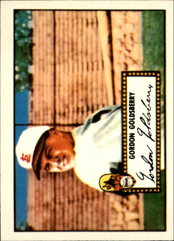 1983 Topps 1952 Reprint #46 Gordon Goldsberry