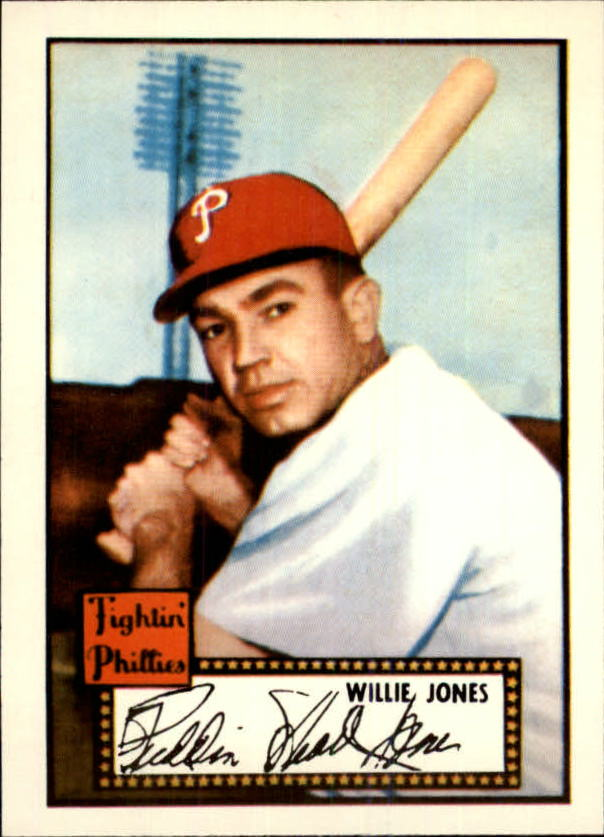 1983 Topps 1952 Reprint #47 Willie Jones