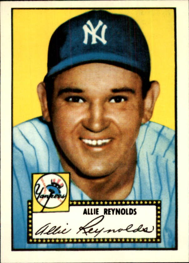 1983 Topps 1952 Reprint #67 Allie Reynolds