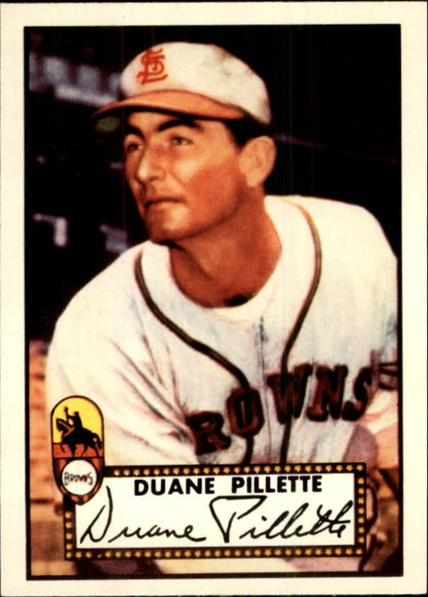 1983 Topps 1952 Reprint #82 Duane Pillette