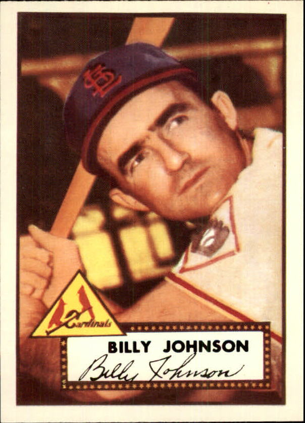 1983 Topps 1952 Reprint #83 Billy Johnson front image