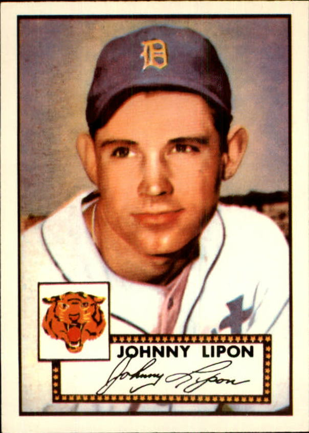 1983 Topps 1952 Reprint #89 Johnny Lipon
