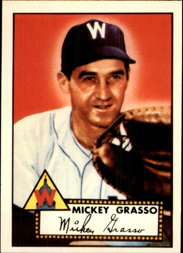 1983 Topps 1952 Reprint #90 Mickey Grasso