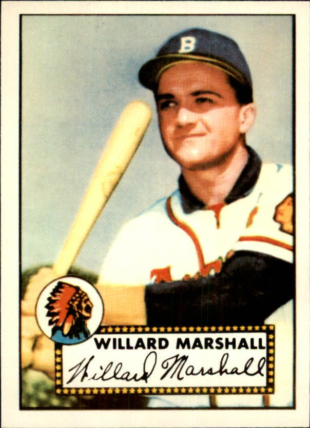1983 Topps 1952 Reprint #96 Willard Marshall