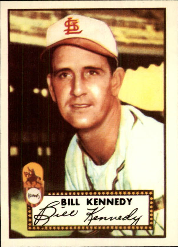 1983 Topps 1952 Reprint #102 Bill Kennedy