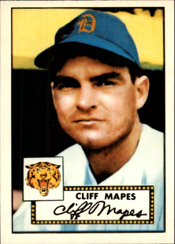 1983 Topps 1952 Reprint #103 Cliff Mapes