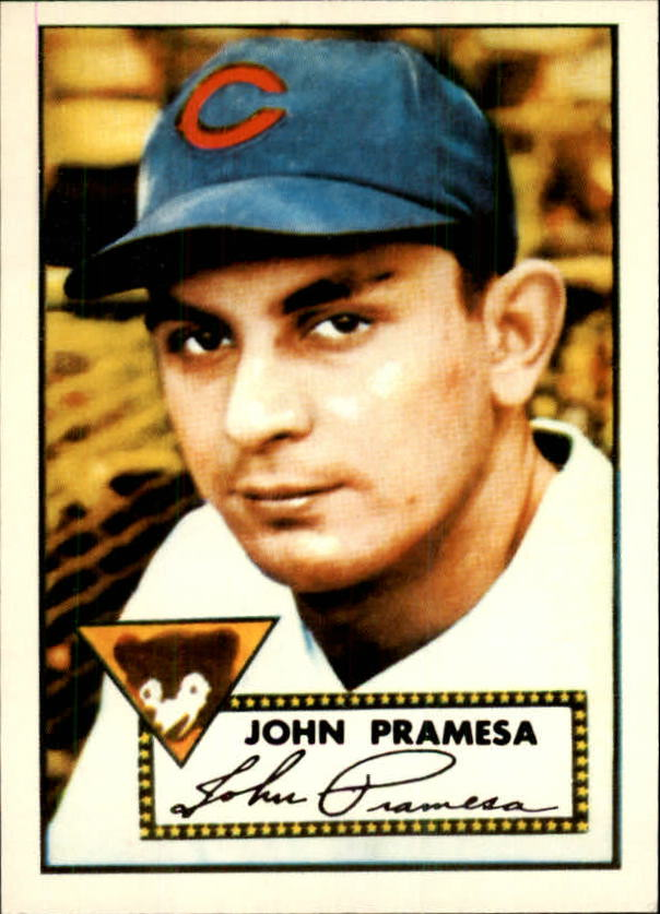 1983 Topps 1952 Reprint #105 Johnny Pramesa