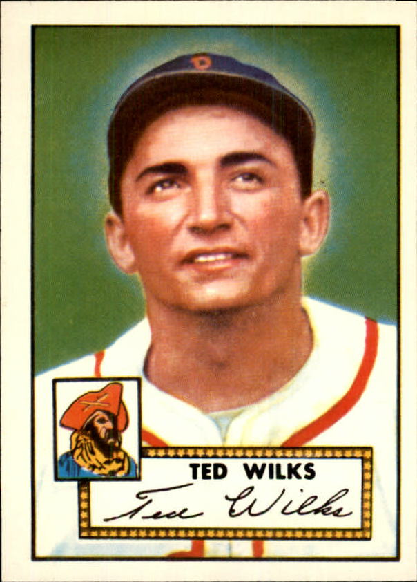 1983 Topps 1952 Reprint #109 Ted Wilks