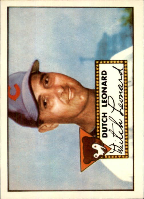 1983 Topps 1952 Reprint #110 Dutch Leonard