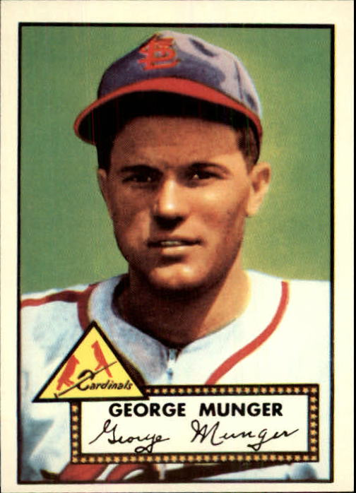 1983 Topps 1952 Reprint #115 George Munger