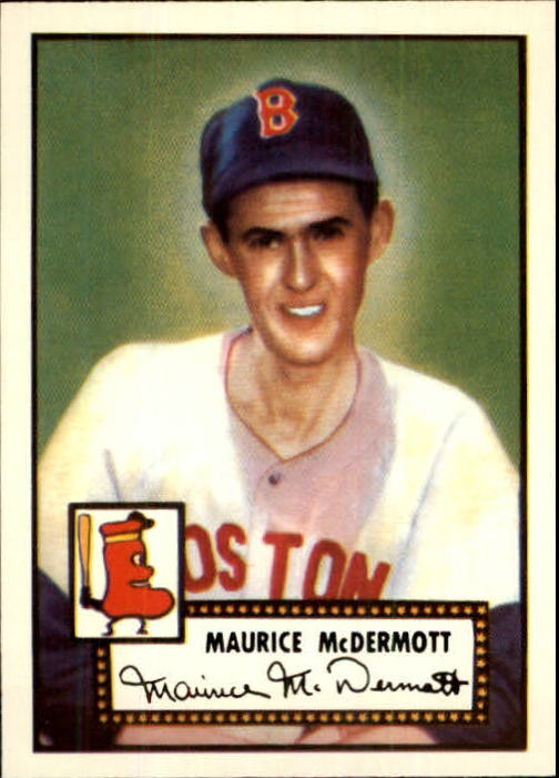1983 Topps 1952 Reprint #119 Mickey McDermott