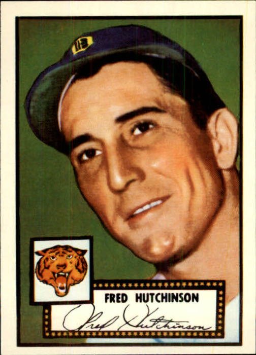 1983 Topps 1952 Reprint #126 Fred Hutchinson