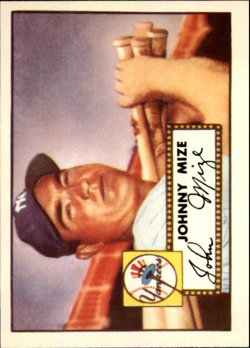 1983 Topps 1952 Reprint #129 Johnny Mize