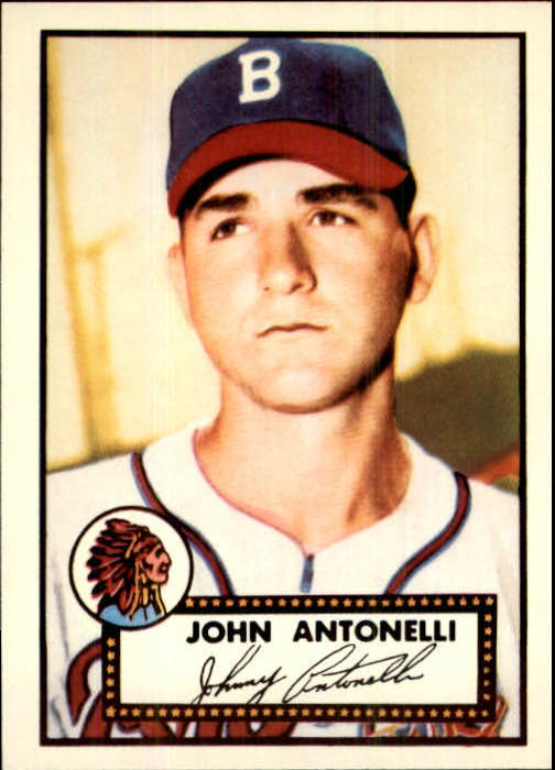 1983 Topps 1952 Reprint #140 Johnny Antonelli