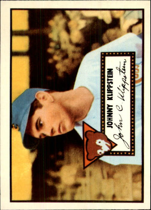 1983 Topps 1952 Reprint #148 Johnny Klippstein