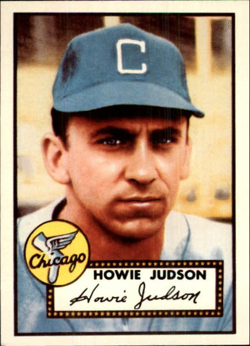 1983 Topps 1952 Reprint #169 Howie Judson