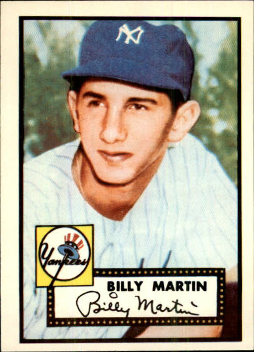 1983 Topps 1952 Reprint #175 Billy Martin