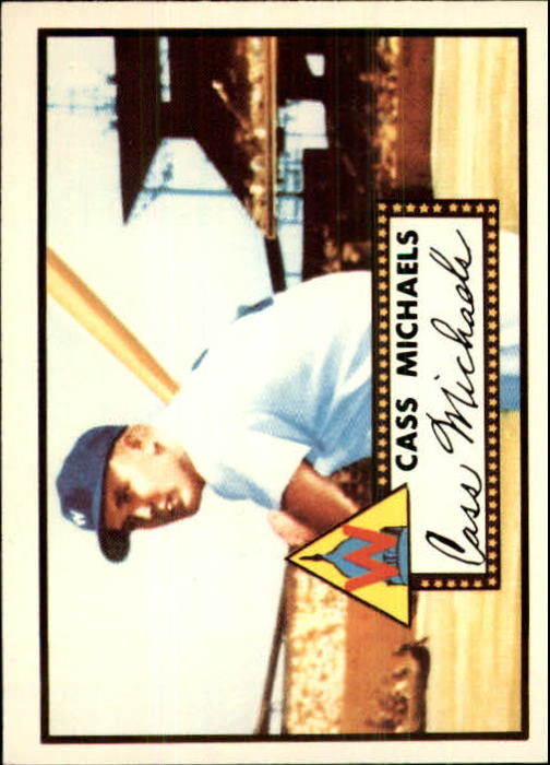 1983 Topps 1952 Reprint #178 Cass Michaels