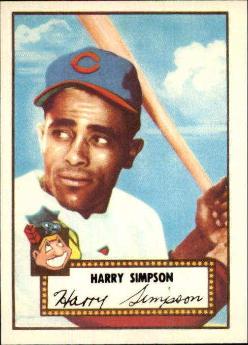 1983 Topps 1952 Reprint #193 Harry Simpson