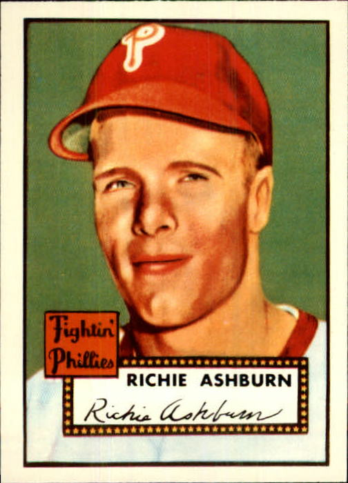 1983 Topps 1952 Reprint #216 Richie Ashburn