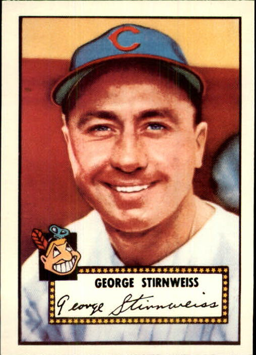 1983 Topps 1952 Reprint #217 Snuffy Stirnweiss