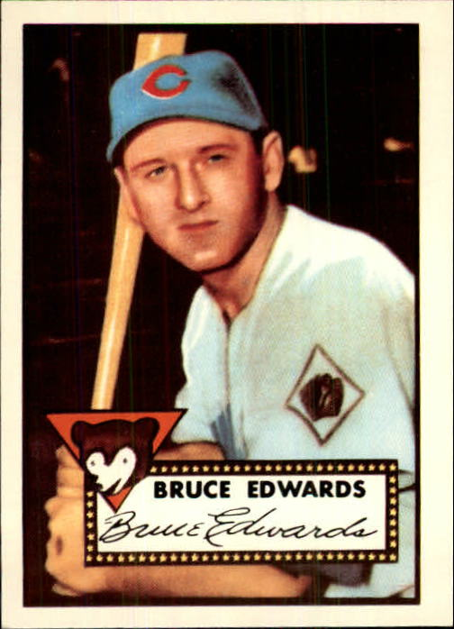 1983 Topps 1952 Reprint #224 Bruce Edwards