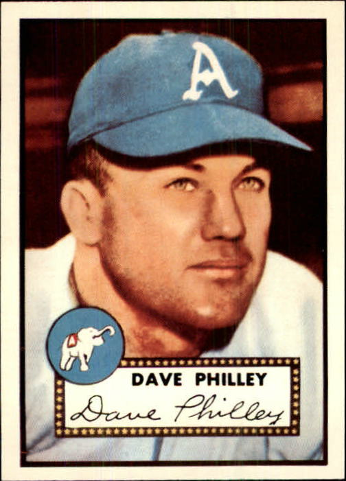 1983 Topps 1952 Reprint #226 Dave Philley