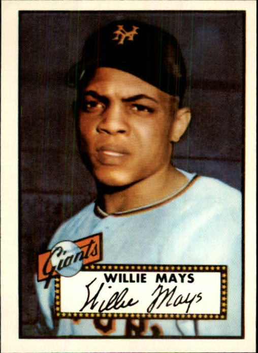 1983 Topps 1952 Reprint #261 Willie Mays