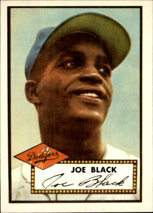 1983 Topps 1952 Reprint #321 Joe Black front image