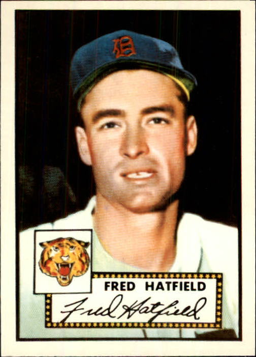 1983 Topps 1952 Reprint #354 Fred Hatfield