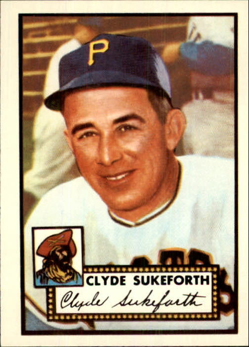 1983 Topps 1952 Reprint #364 Clyde Sukeforth CO